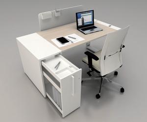 Scrivania Ufficio Ovvio : Boxoffice arredo e pareti per ufficio